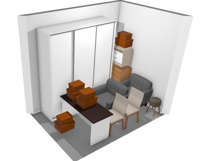 área 03 móveis e estoque