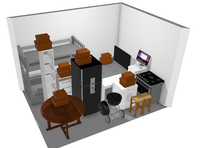 área 04 móveis e estoque